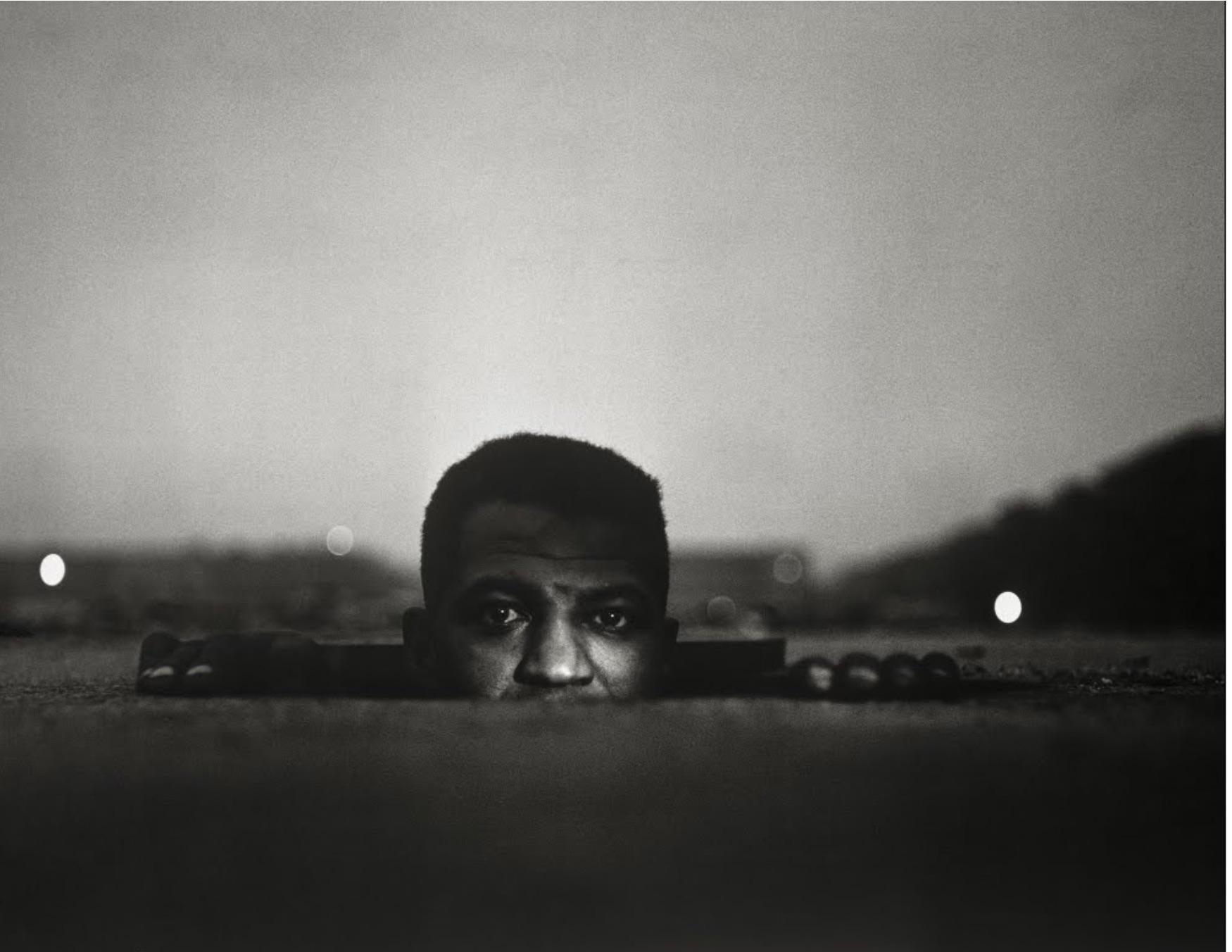 Emerging Man, Harlem, 1952