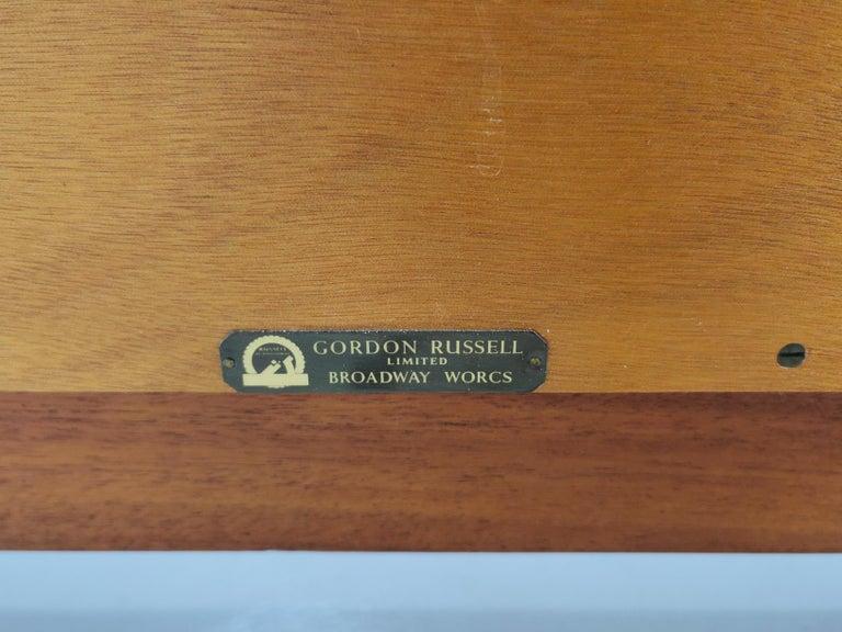 Gordon Russell Indian Laurel Teak Midcentury Sideboard, 1960s 1