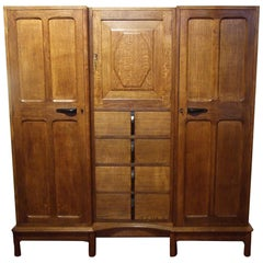 Gordon Russell Oak Wardrobe, 1928