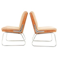 Gordon Russell Office Easy Lounge Armchairs Vintage Midcentury