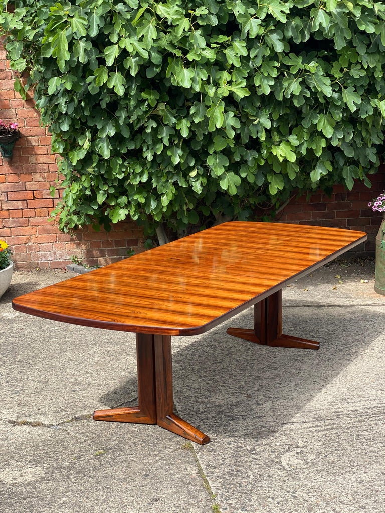 Late 20th Century Gordon Russell Rio Rosewood Dining Table by Martin Hall Marwood Range, 1970 For Sale