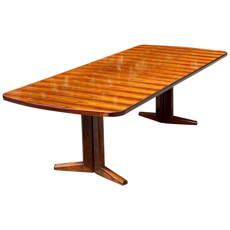 Gordon Russell Rio Rosewood Dining Table by Martin Hall Marwood Range, 1970 For Sale