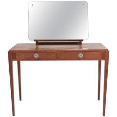Gordon Russell Walnut Midcentury Dressing Table Writing Desk