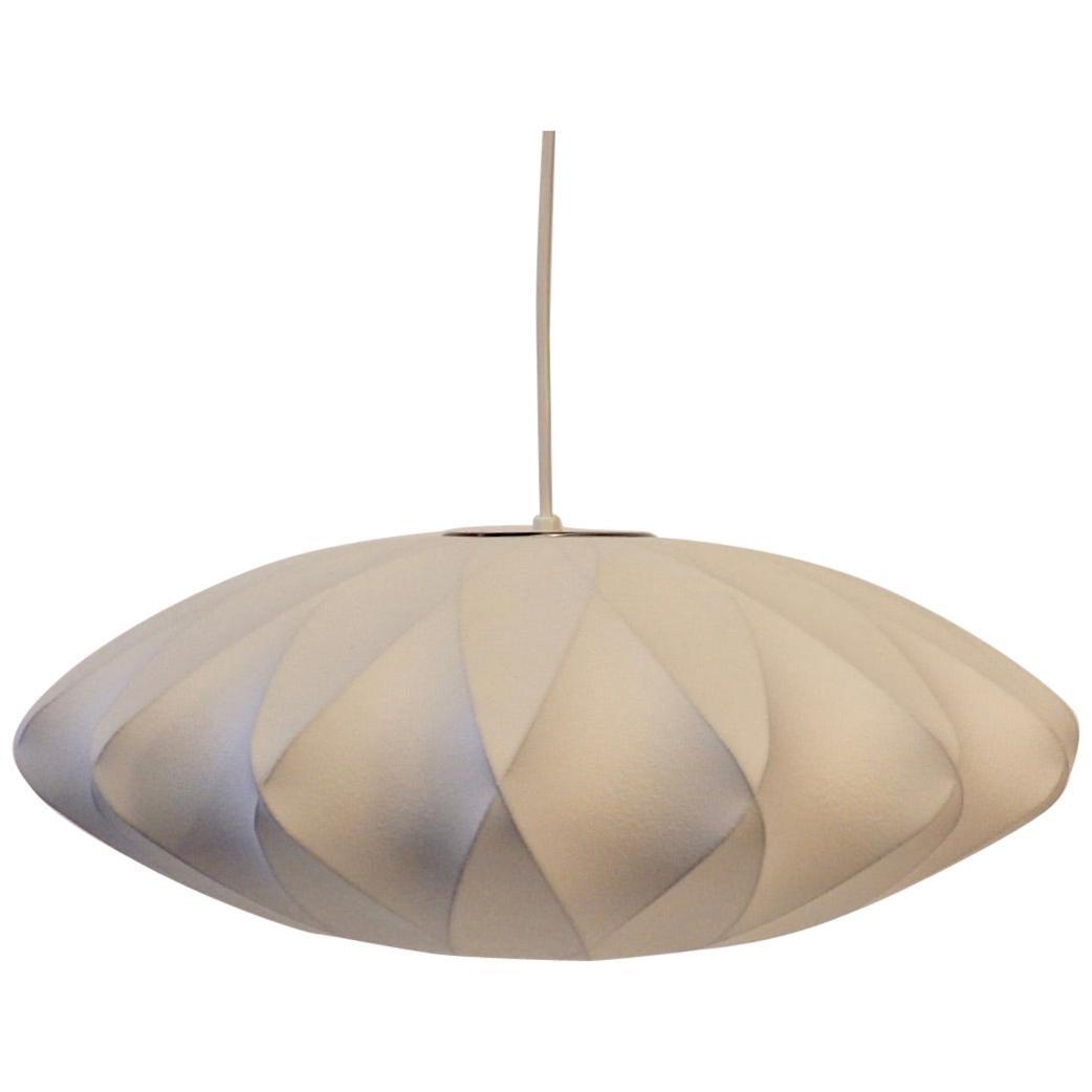 Gorge Nelson for Herman Miller Criss Cross Hanging Bubble Lamp