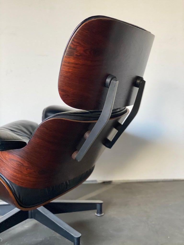 Gorgeous 1960s Herman Miller Eames Lounge Chair and Ottoman 3