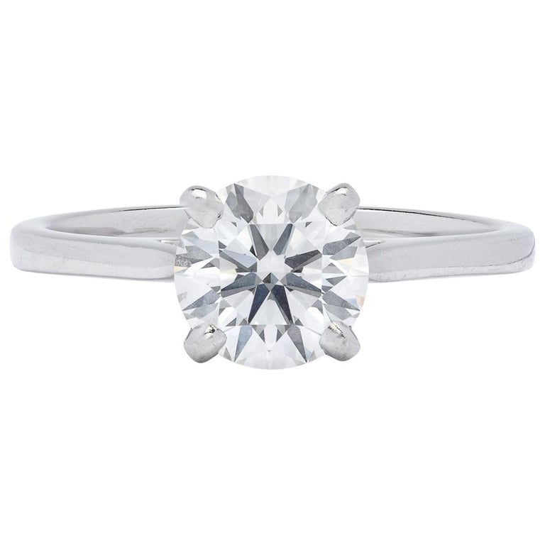 Gorgeous .86 Carat GIA F/VVS1 Diamond Ring For Sale