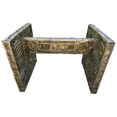 Gorgeous Adrian Pearsall Brutalist Dining Table Desk the Style of Paul Evans