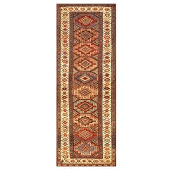 Gorgeous Antique Northwest Persian Runner Rug. Size: 3 ft 5 in x 9 ft 3 in