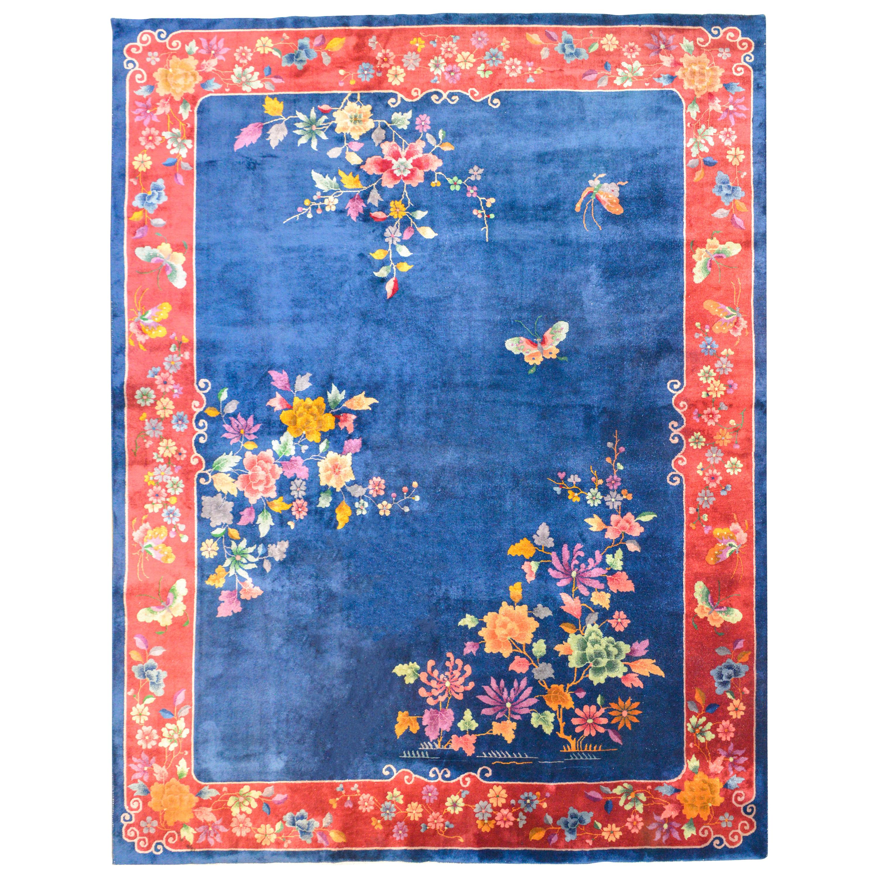 Gorgeous Early 20th Century Chinese Art Deco Rug