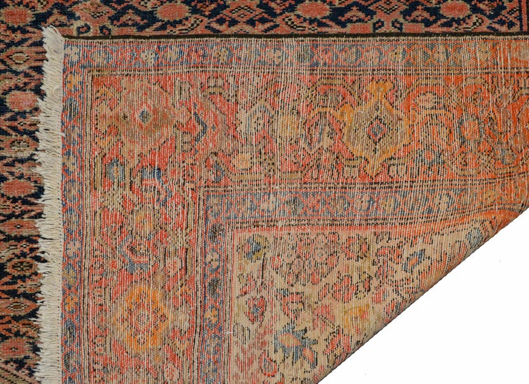 Gorgeous Early 20th Century Herati Rug For Sale 3