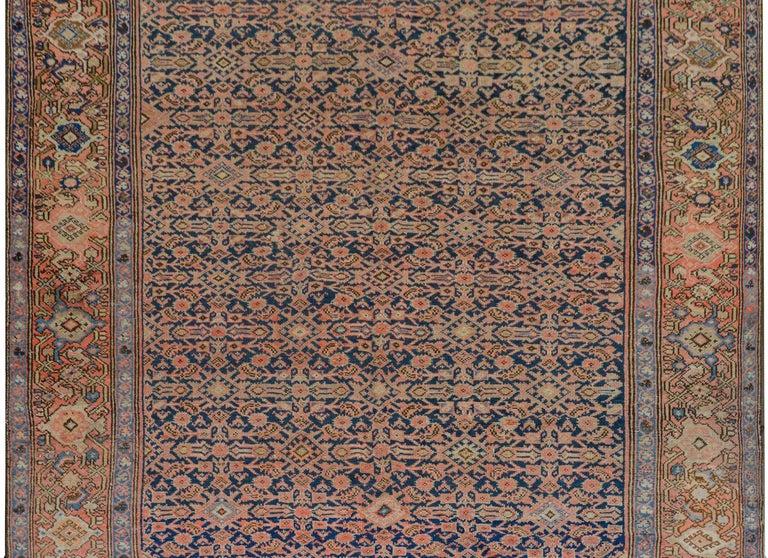 Heriz Serapi Gorgeous Early 20th Century Herati Rug For Sale