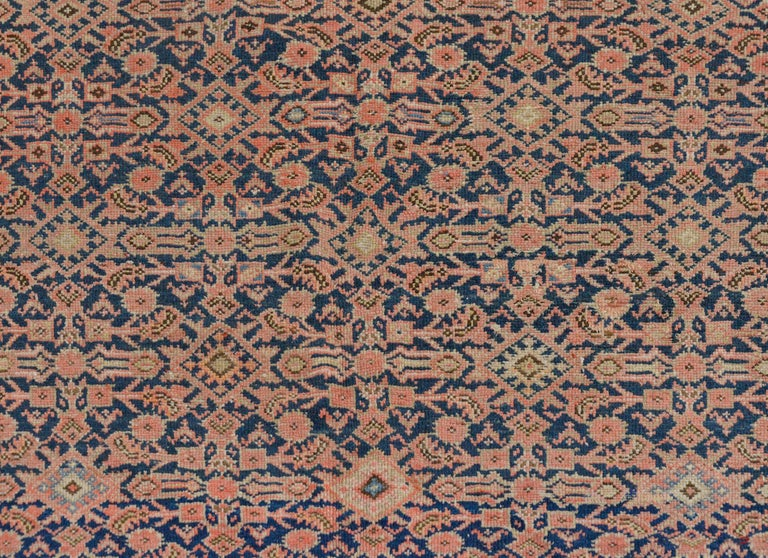 Persian Gorgeous Early 20th Century Herati Rug For Sale