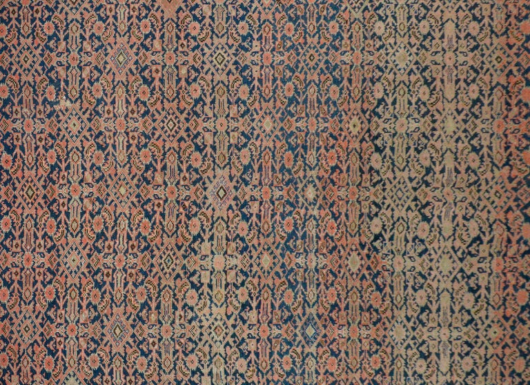 Wool Gorgeous Early 20th Century Herati Rug For Sale