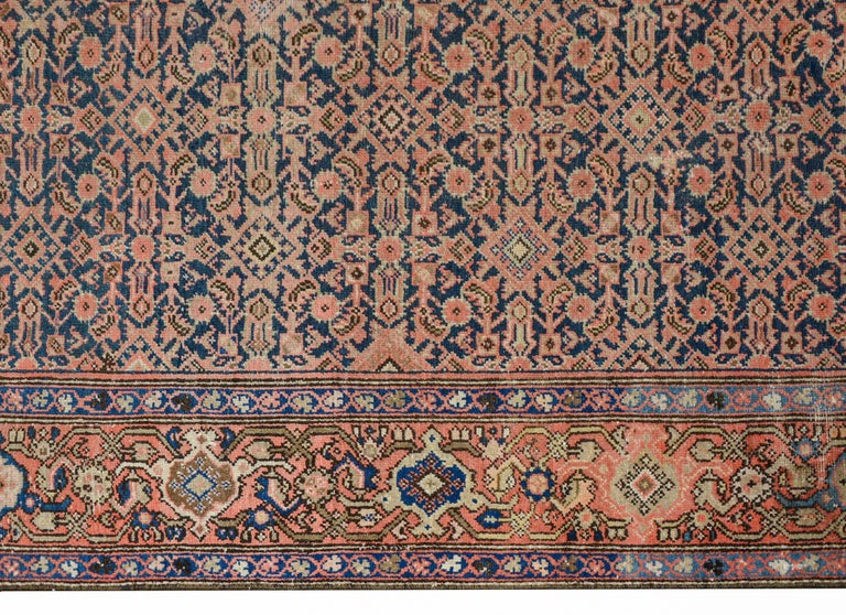 Gorgeous Early 20th Century Herati Rug For Sale 1