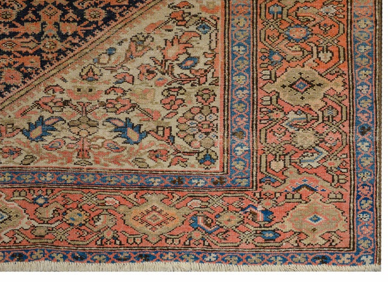 Gorgeous Early 20th Century Herati Rug For Sale 2