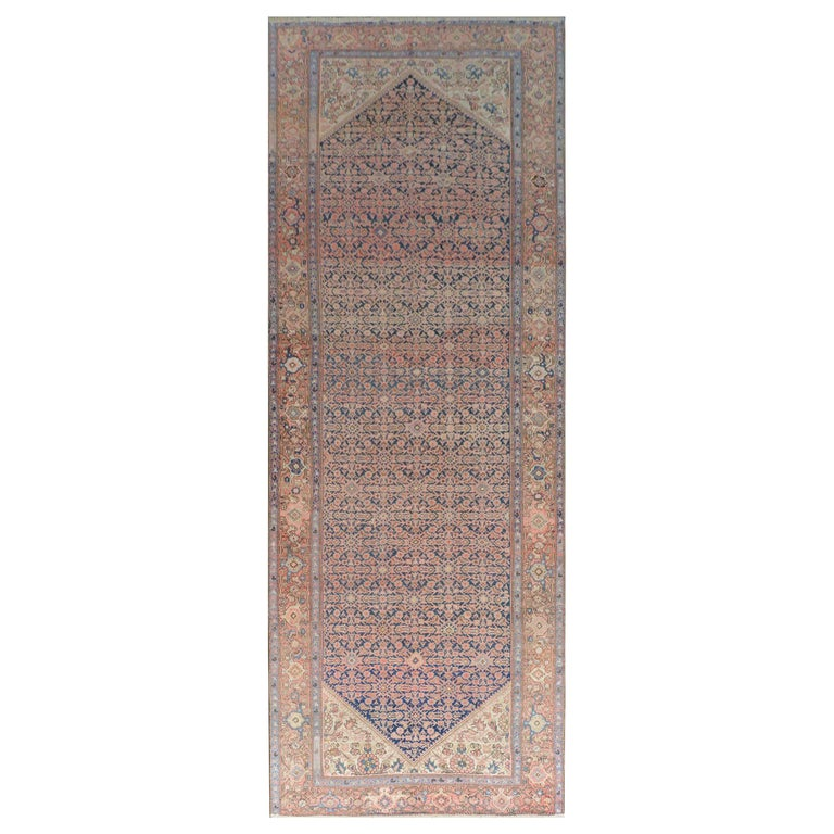 Gorgeous Early 20th Century Herati Rug For Sale