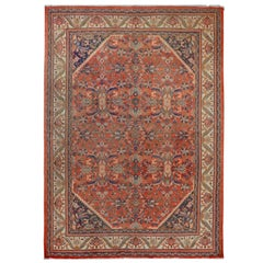 Gorgeous Early 20th Century Mahal Rug