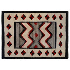 Gorgeous Early 20th Century Navajo Rug