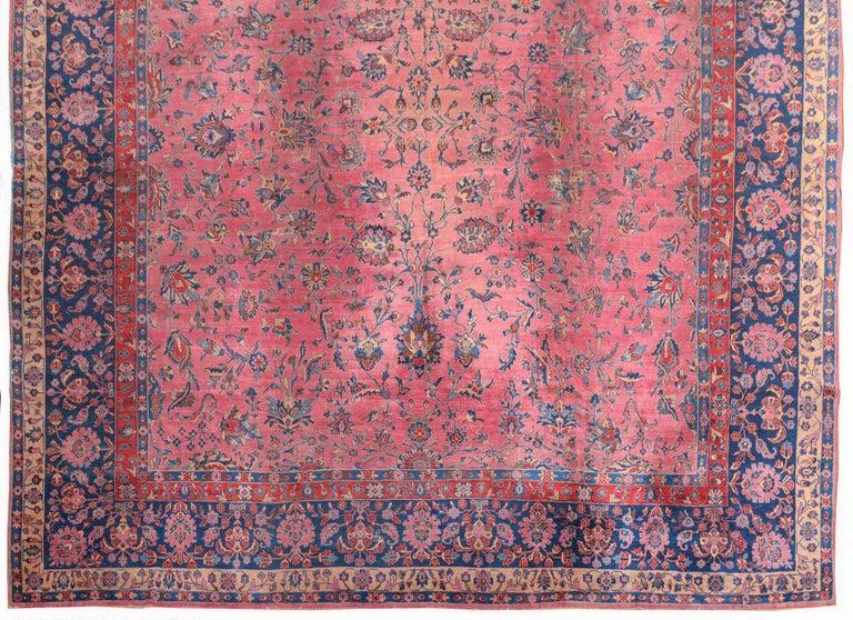 Sarouk Farahan Gorgeous Early 20th Century Sarouk Rug For Sale