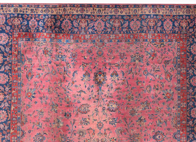 Persian Gorgeous Early 20th Century Sarouk Rug For Sale
