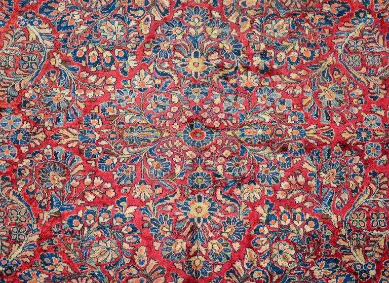 Mid-20th Century Gorgeous Early 20th Century Sarouk Rug For Sale