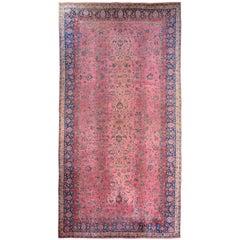 Gorgeous Early 20th Century Sarouk Rug