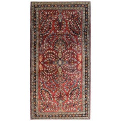 Gorgeous Early 20th Century Sarouk Rug