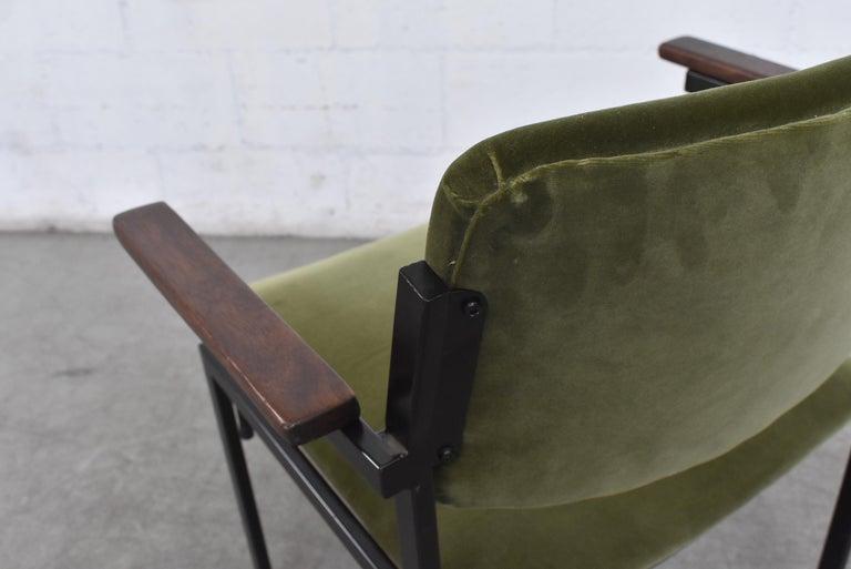 Gorgeous Martin Visser Inspired Stacking Velvet Armchairs 2