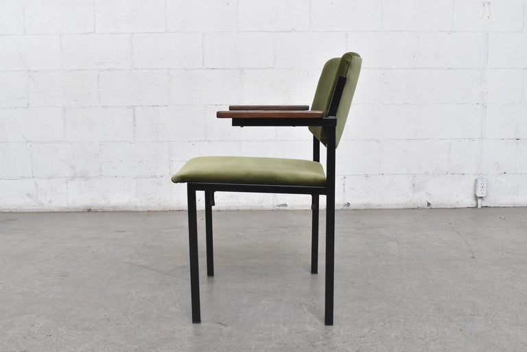 Dutch Gorgeous Martin Visser Inspired Stacking Velvet Armchairs