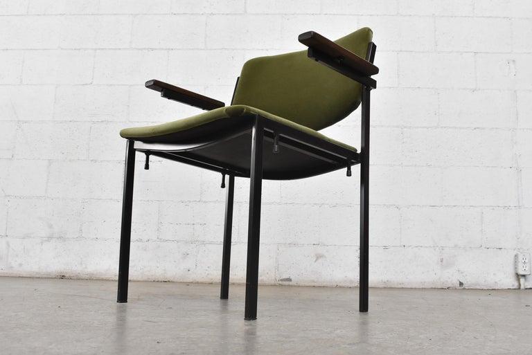 Metal Gorgeous Martin Visser Inspired Stacking Velvet Armchairs
