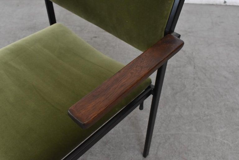 Gorgeous Martin Visser Inspired Stacking Velvet Armchairs 1