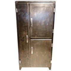 Gorgeous Midcentury France Metal Kitchen Cupboard