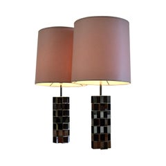 Gorgeous Pair of Hollywood Regency Table Lamps
