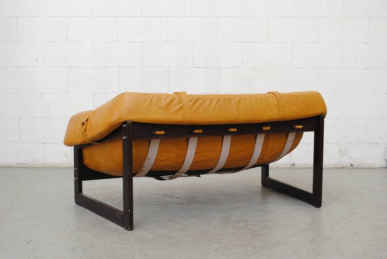 Mid-20th Century Gorgeous Percival Lafer Loveseat For Sale
