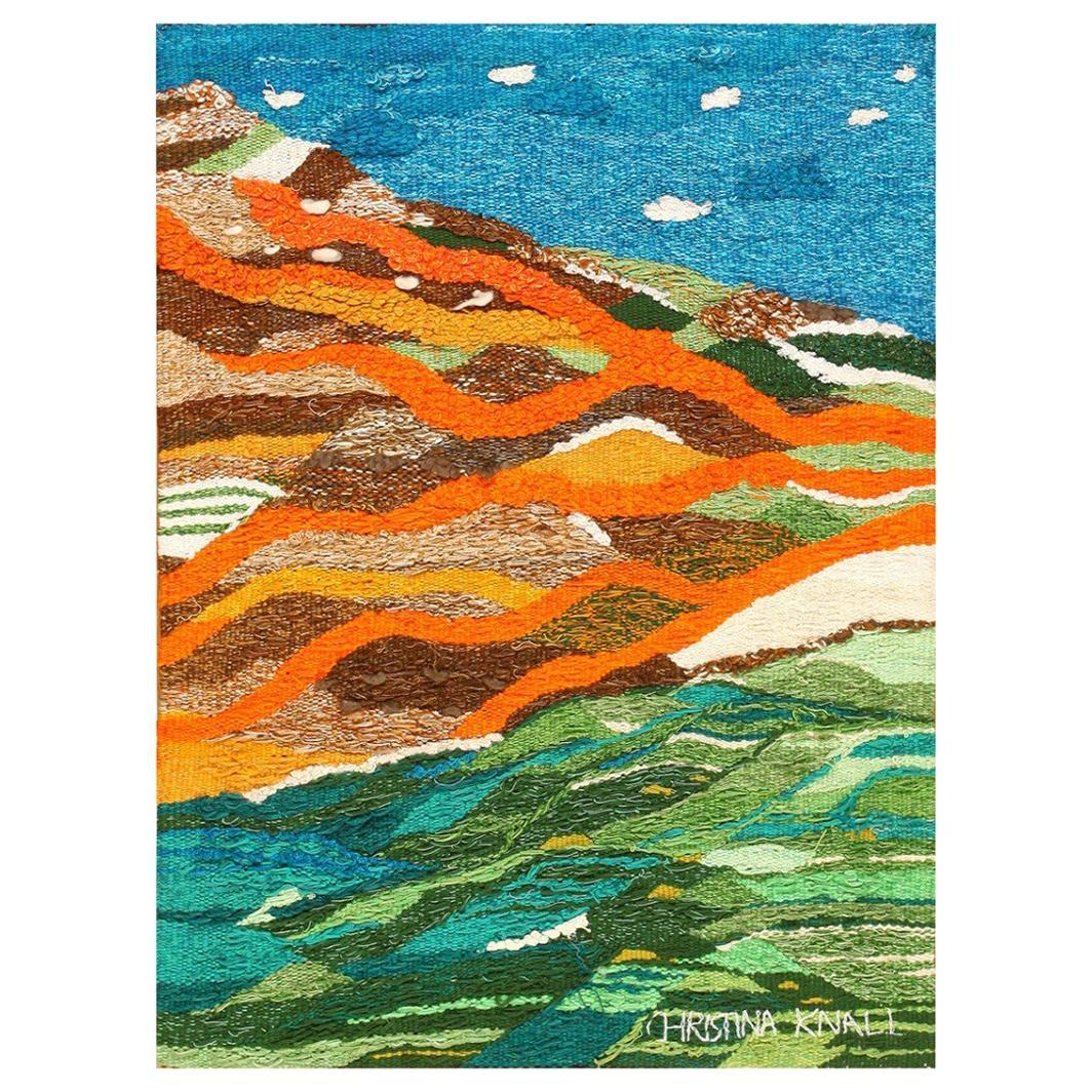 Gorgeous Scandinavian Landscape Tapestry by Christina Knall.