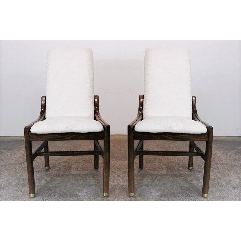 Gorgeous Set of Eight Vintage Henredon Dining Chairs in ...