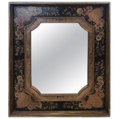 Gorgeous Venetian Hand Painted Rectangular Mirror