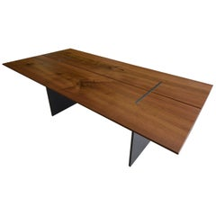 Gorgeous Walnut Metro Mark Tapered Table