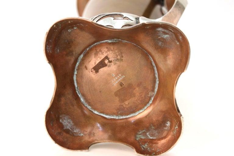 Gorham American Art Nouveau 'Athenia' Silver Vase For Sale 9