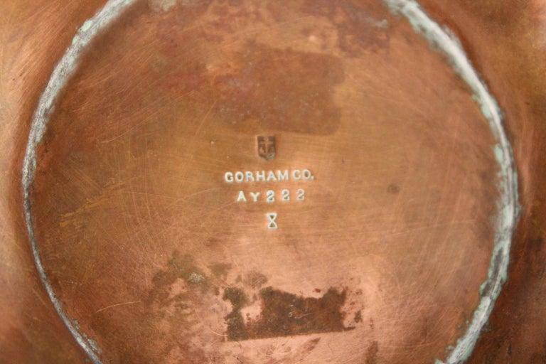 Gorham American Art Nouveau 'Athenia' Silver Vase For Sale 10