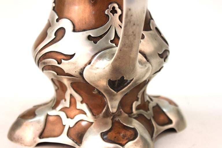 Gorham American Art Nouveau 'Athenia' Silver Vase For Sale 4
