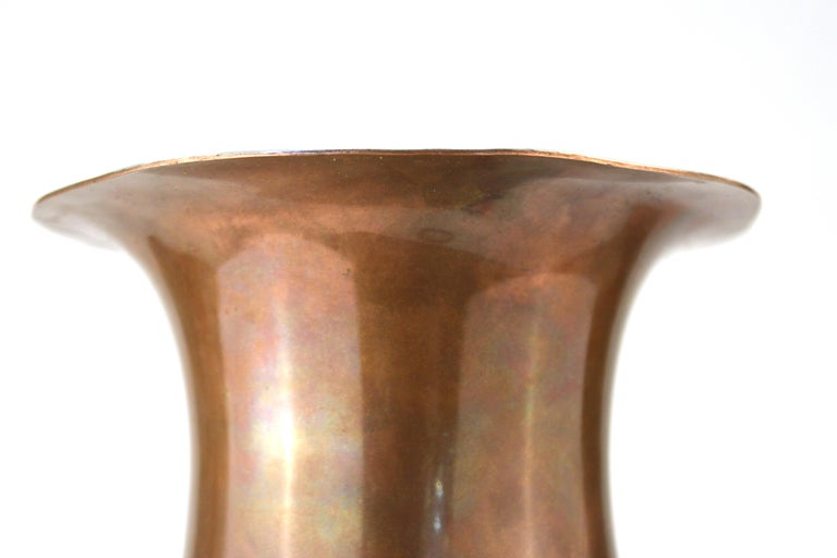 Gorham American Art Nouveau 'Athenia' Silver Vase For Sale 5