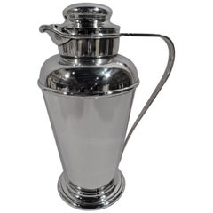 Gorham Art Deco Sterling Silver Cocktail Shaker