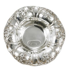Gorham Corporation Early Victorian Handcrafted Silver Sterling Centrepiece, 1909