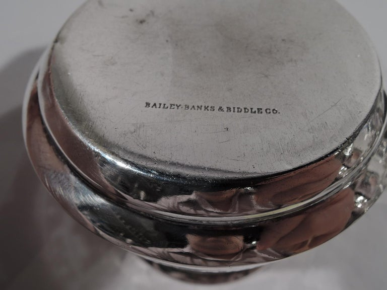 Gorham Edwardian Sterling Silver Baby Cup with Moral Message In Good Condition For Sale In New York, NY