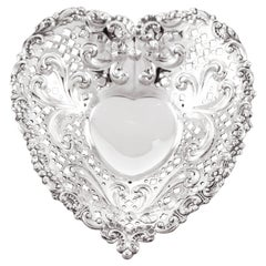 Gorham Heart-Shaped Dish