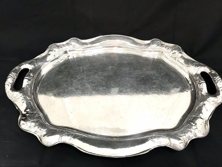 Martele by Gorham Silver Six Piece Coffee and Tea Service with Tray 1905-1907 In Excellent Condition For Sale In Washington, DC