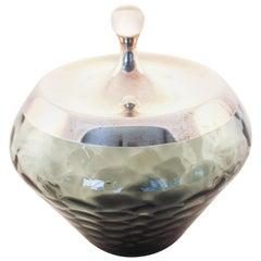 Gorham Modernism Jar in Ash Grey