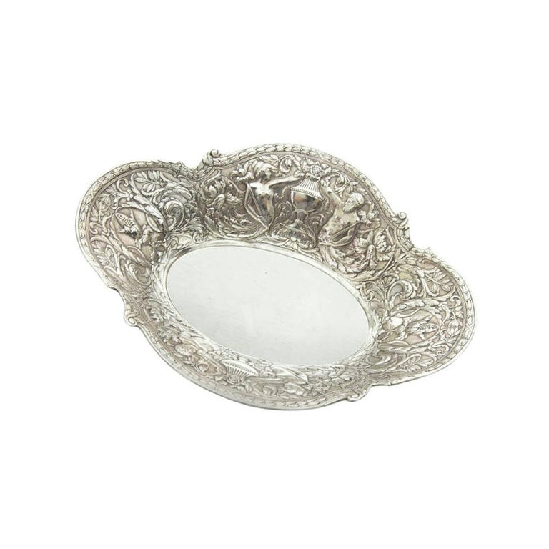 Gorham Neoclassical Sterling Silver Bowl Estate Find In Excellent Condition In Montreal, QC
