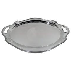 Gorham Plymouth Modern Sterling Silver Tea Tray